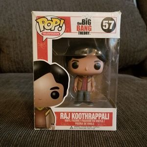 Raj Koothrappali Pop! Figure from Big Bang Theory